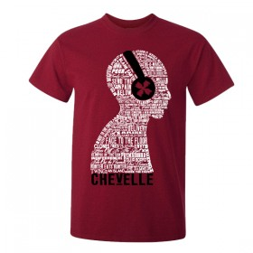 RED HEADPHONES TEE