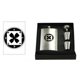 Flask & Shot glass set
