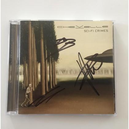 SCI-FI CRIMES CD (Autographed)