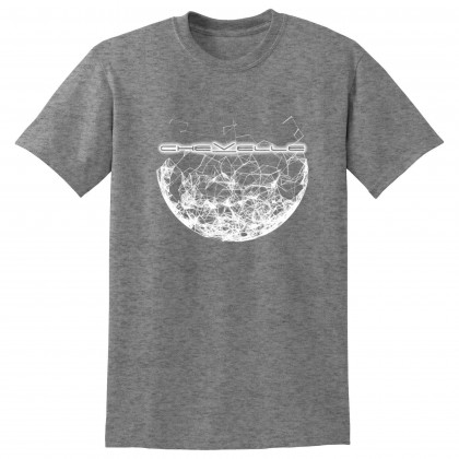 Fractured Moon Gray Tee (No Back)