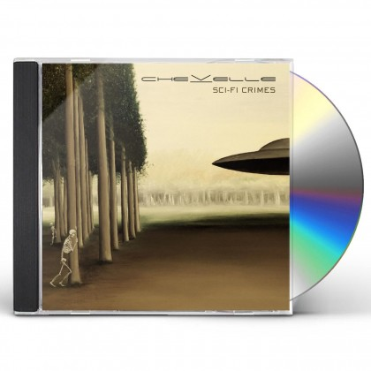 SCI-FI CRIMES CD (NO Autograph)